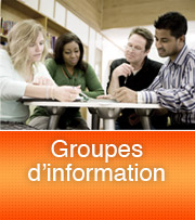 Groupes d'informations
